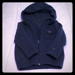 Tommy Hilfiger Toddler zip up sweater